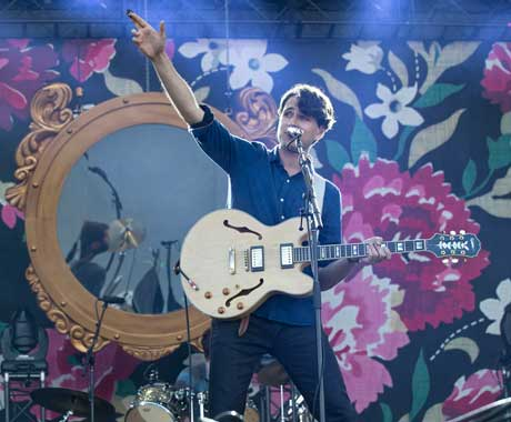 Vampire Weekend at Jacobs Pavilion at Nautica
