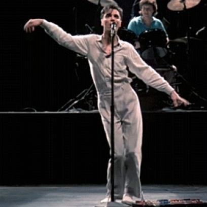 David Byrne at Jacobs Pavilion at Nautica