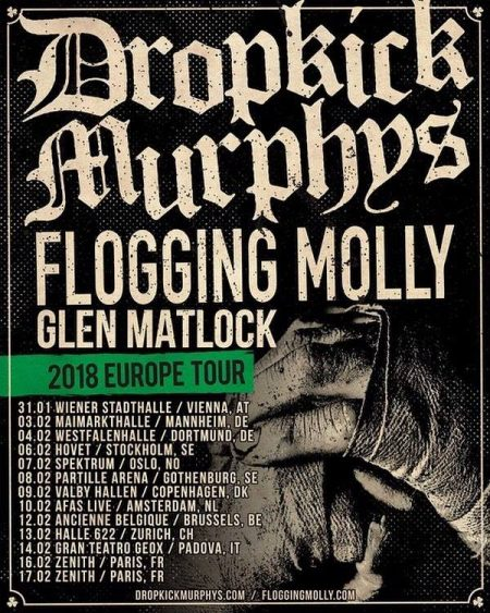 Dropkick Murphys & Flogging Molly at Jacobs Pavilion at Nautica