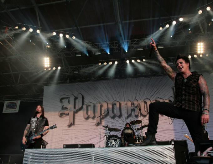 Papa Roach at Jacobs Pavilion at Nautica