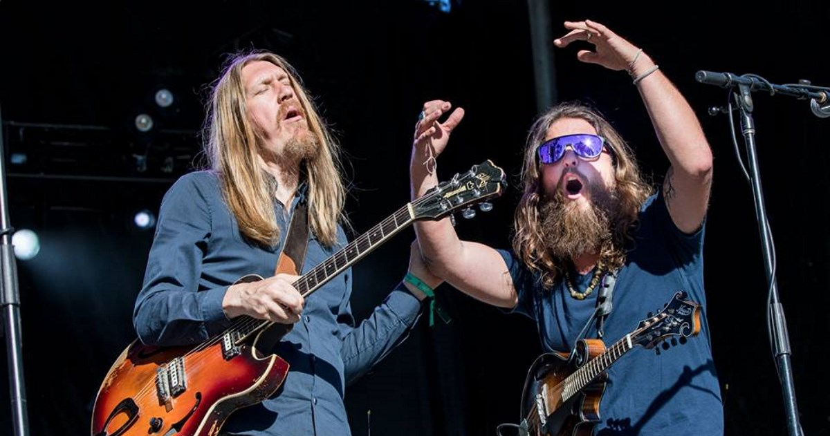 Greensky Bluegrass & The Wood Brothers at Jacobs Pavilion at Nautica