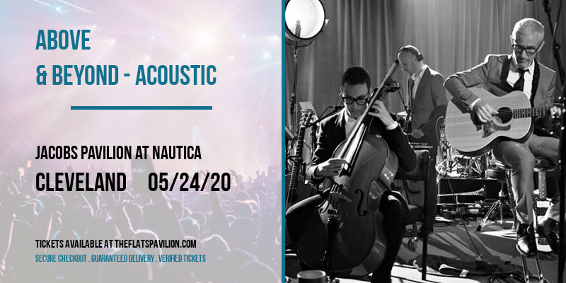 Above & Beyond - Acoustic at Jacobs Pavilion at Nautica
