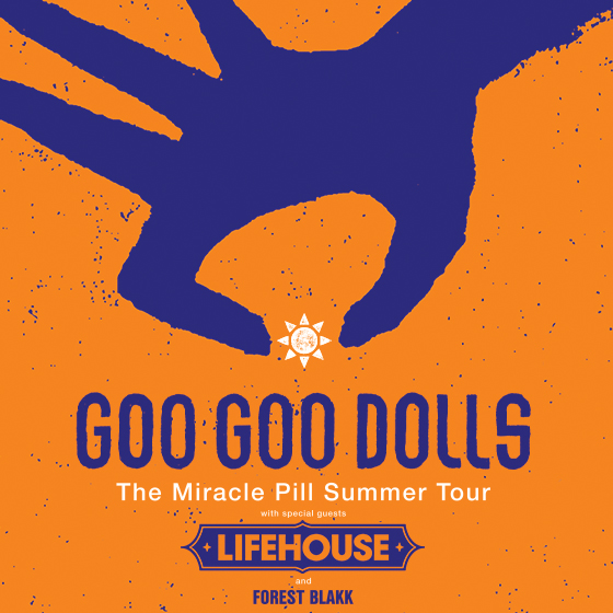 Goo Goo Dolls & Lifehouse [POSTPONED] at Jacobs Pavilion at Nautica