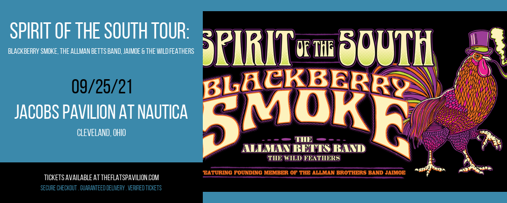 Blackberry Smoke, The Allman Betts Band, Jaimoe & The Wild Feathers at Jacobs Pavilion at Nautica
