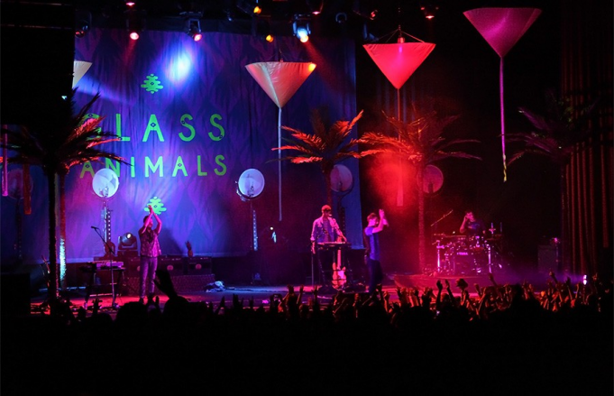 Glass Animals at Jacobs Pavilion at Nautica