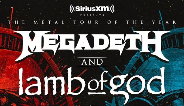 Megadeth & Lamb of God [CANCELLED] at Jacobs Pavilion at Nautica