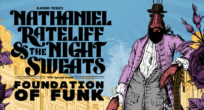 Nathaniel Rateliff and The Night Sweats at Jacobs Pavilion at Nautica